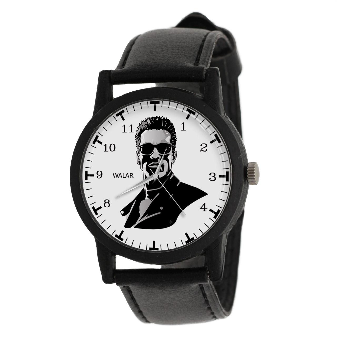 کد تخفیف                                      ساعت مچی عقربه ای مردانه والار طرح ترمیناتور کد LF2327