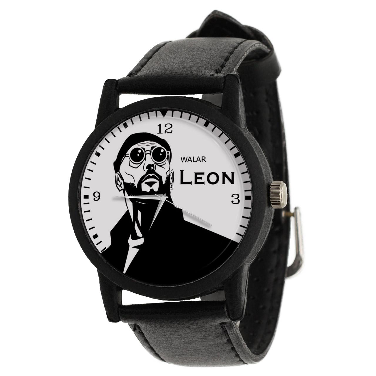کد تخفیف                                      ساعت مچی عقربه ای والار طرح لئون کد LF2332