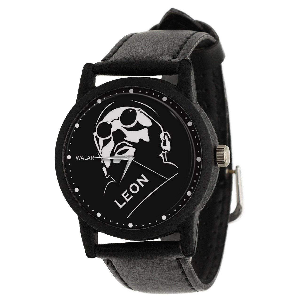 کد تخفیف                                      ساعت مچی عقربه ای والار طرح لئون کد LF2333