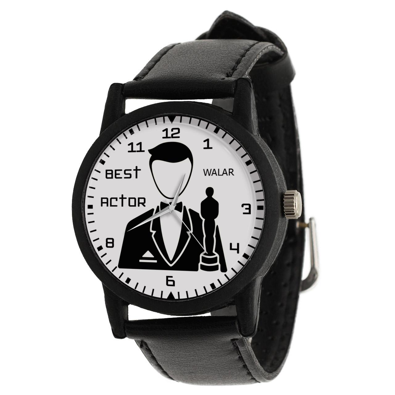 کد تخفیف                                      ساعت مچی عقربه ای مردانه والار طرح بازیگر کد LF2343