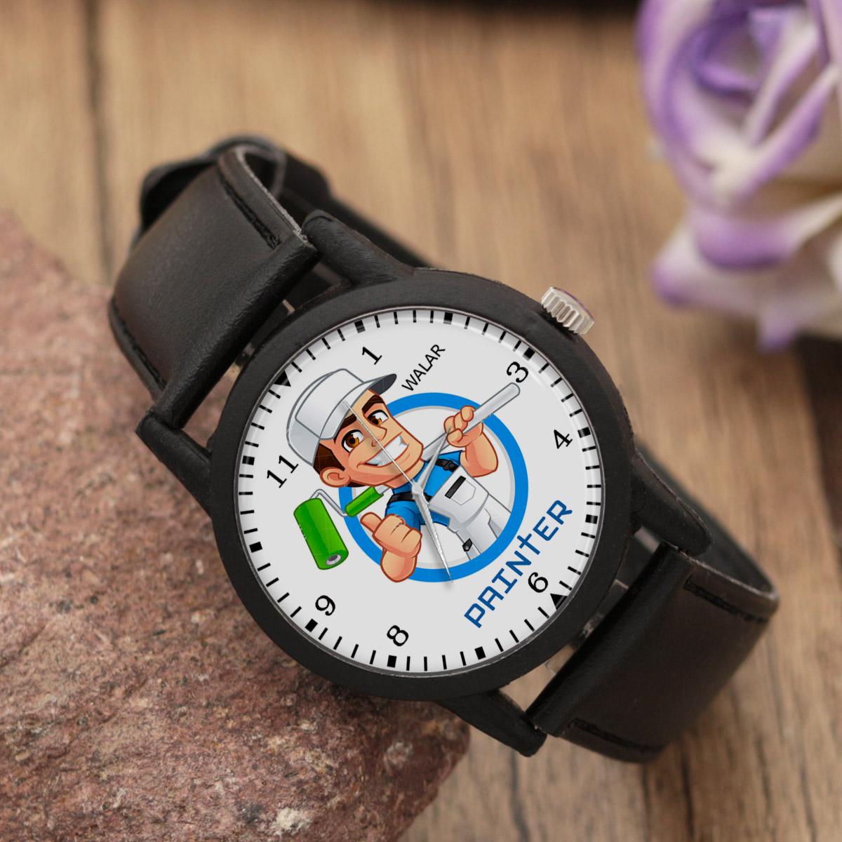 کد تخفیف                                      ساعت مچی عقربه ای مردانه والار طرح رنگ کار کد LF2344