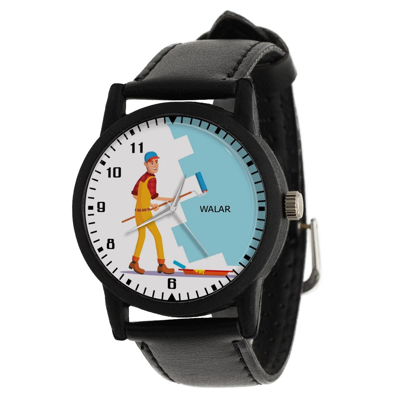کد تخفیف                                      ساعت مچی عقربه ای مردانه والار طرح رنگ کار کد LF2346