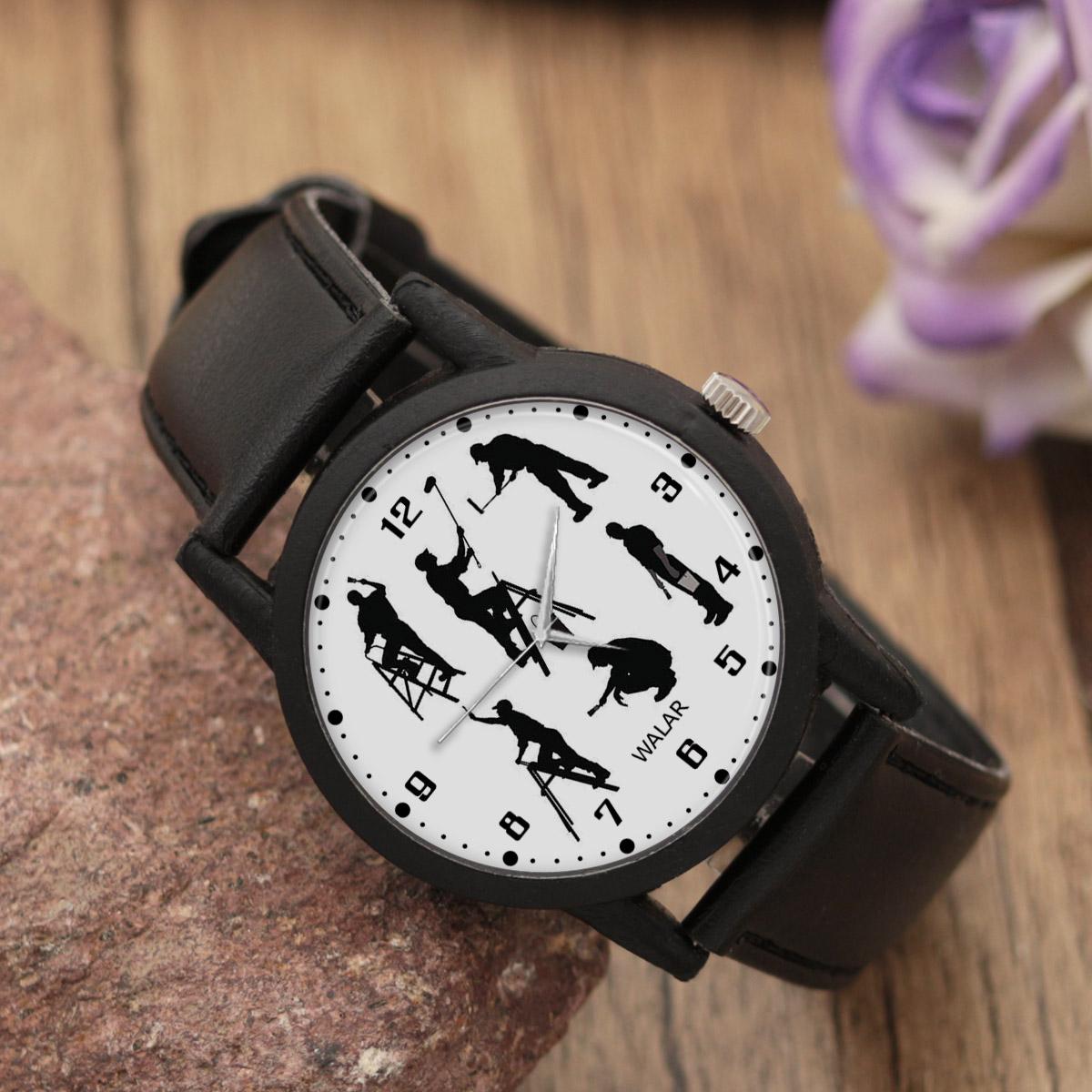 ساعت مچی عقربه ای مردانه والار طرح رنگ کار کد LF2352