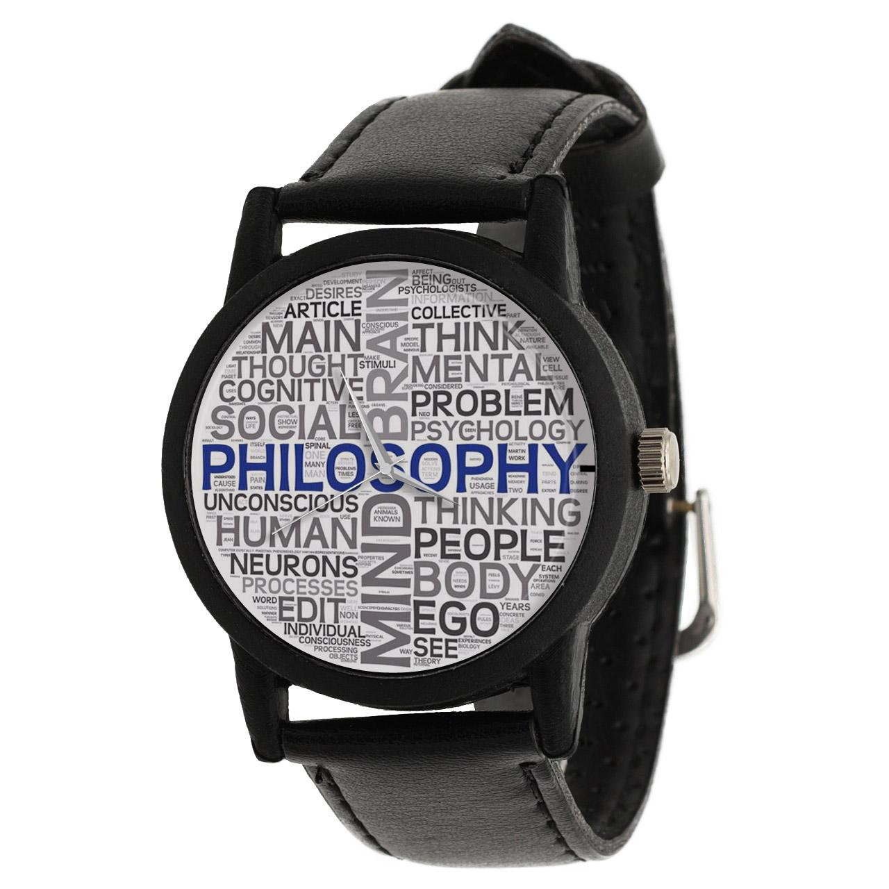 قیمت                      ساعت مچی عقربه ای والار طرح فلسفه کد LF2357