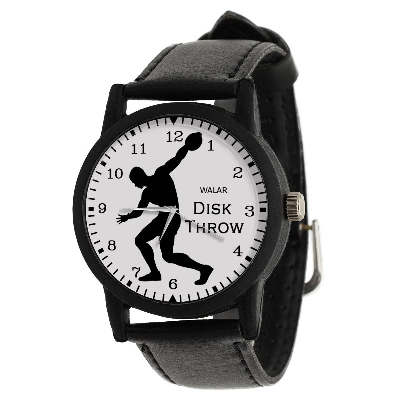 کد تخفیف                                      ساعت مچی عقربه ای مردانه والار طرح پرتاب دیسک کد LF2362