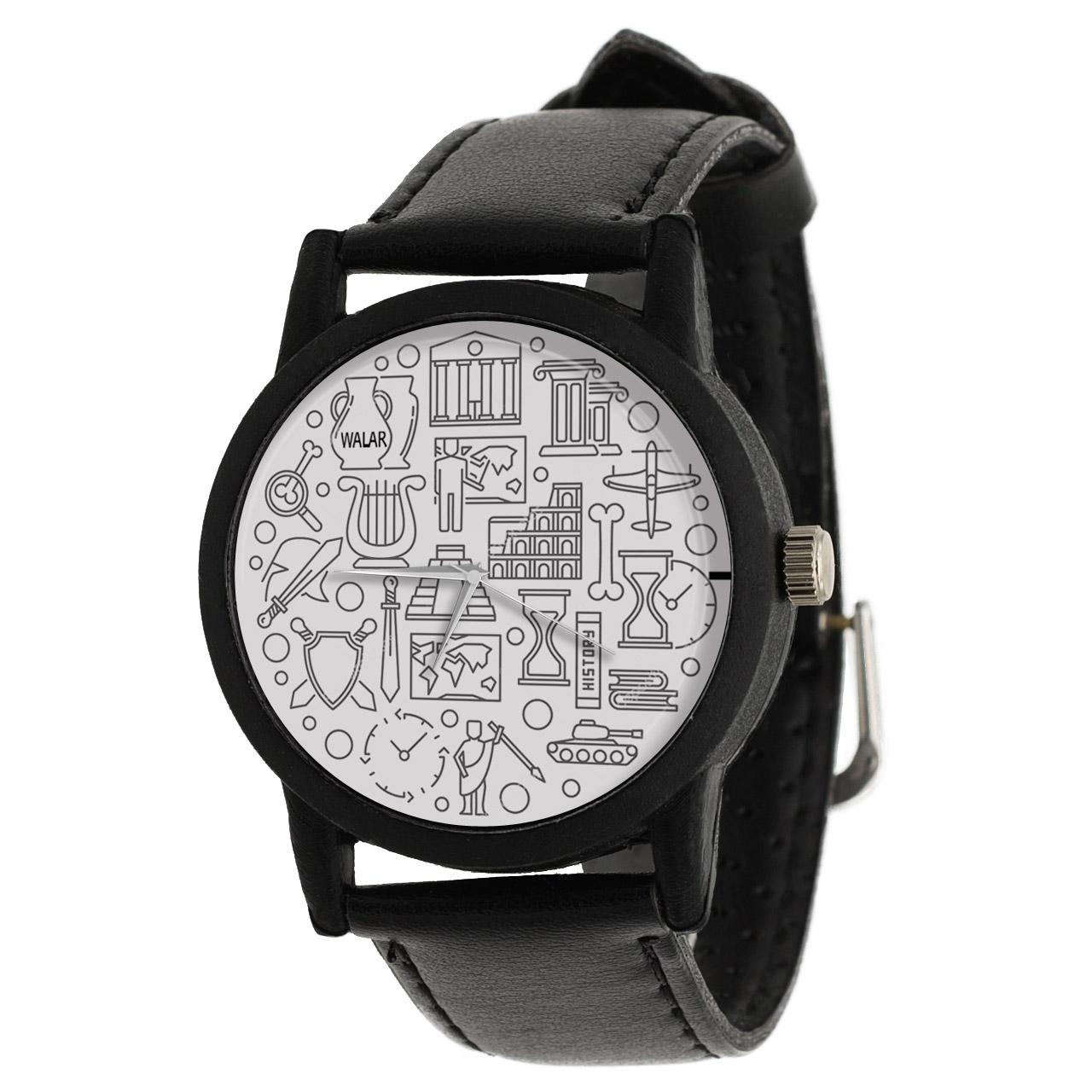 کد تخفیف                                      ساعت مچی عقربه ای والار طرح تاریخ کد LF2363