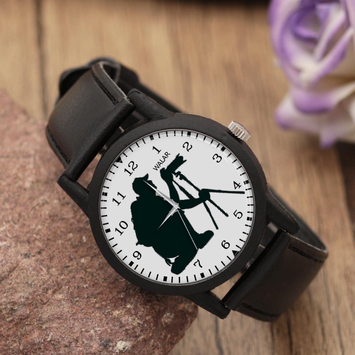 کد تخفیف                                      ساعت مچی عقربه ای مردانه والار طرح عکاسی کد LF2376