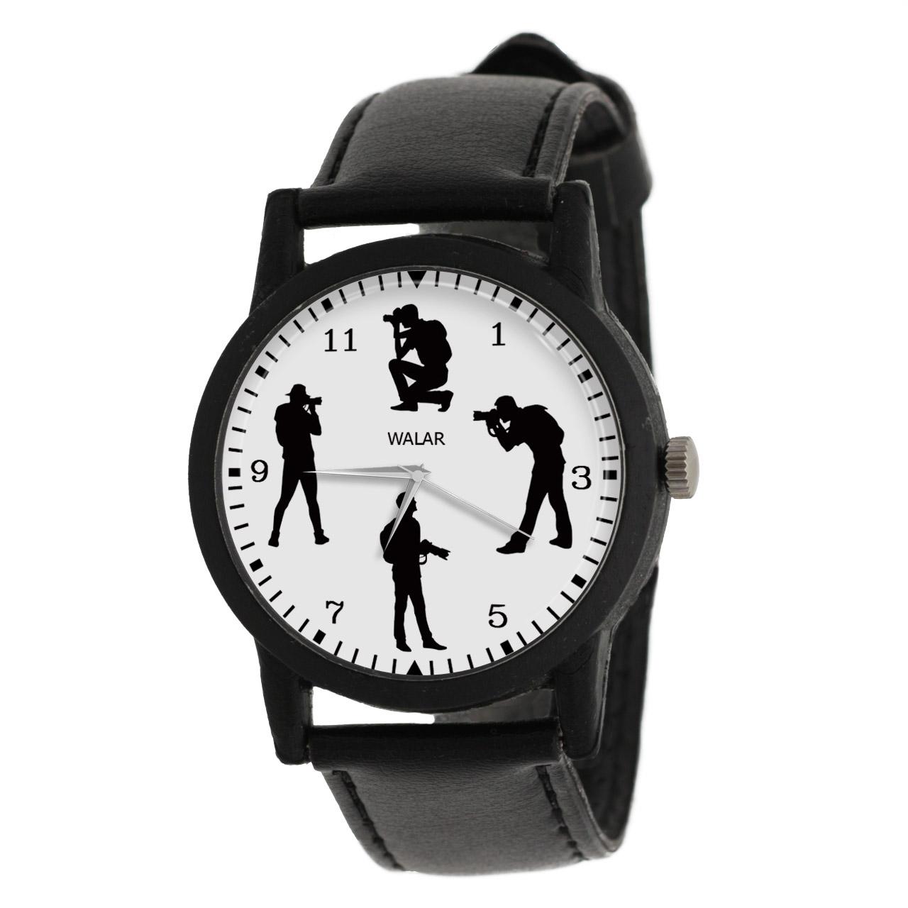 کد تخفیف                                      ساعت مچی عقربه ای مردانه والار طرح عکاسی کد LF2378