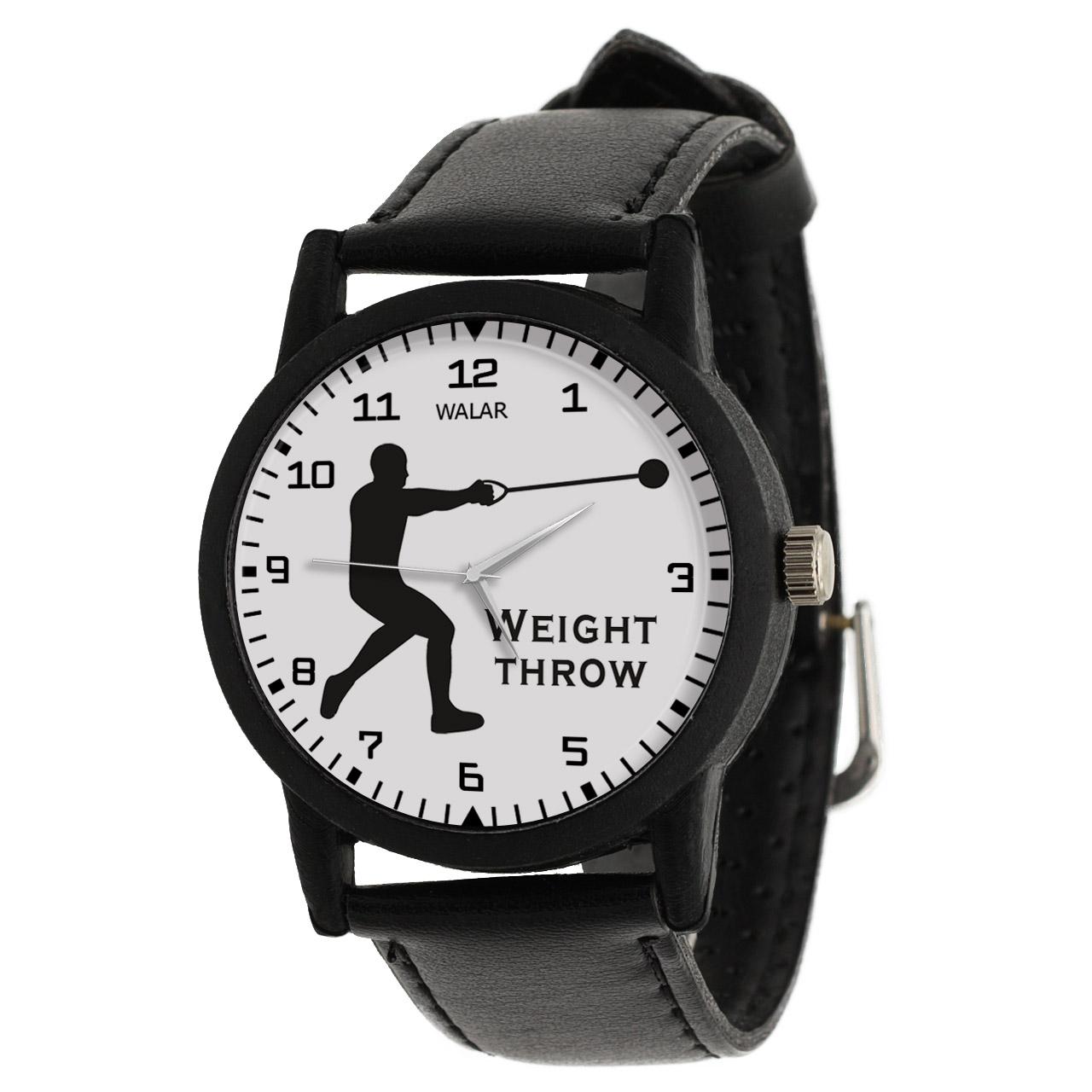 کد تخفیف                                      ساعت مچی عقربه ای مردانه والار طرح پرتاب وزنه کد LF2384