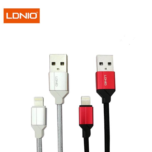 کابل تبدیل USB به لایتنینگ الدینیو مدل LS-391 طول 1 متر