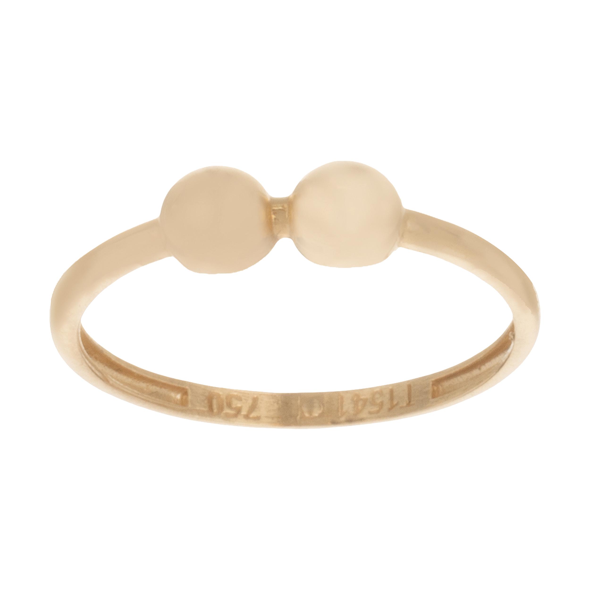 انگشتر طلا 18 عیار زنانه الماسین آذر طرح پاپیون کد P01