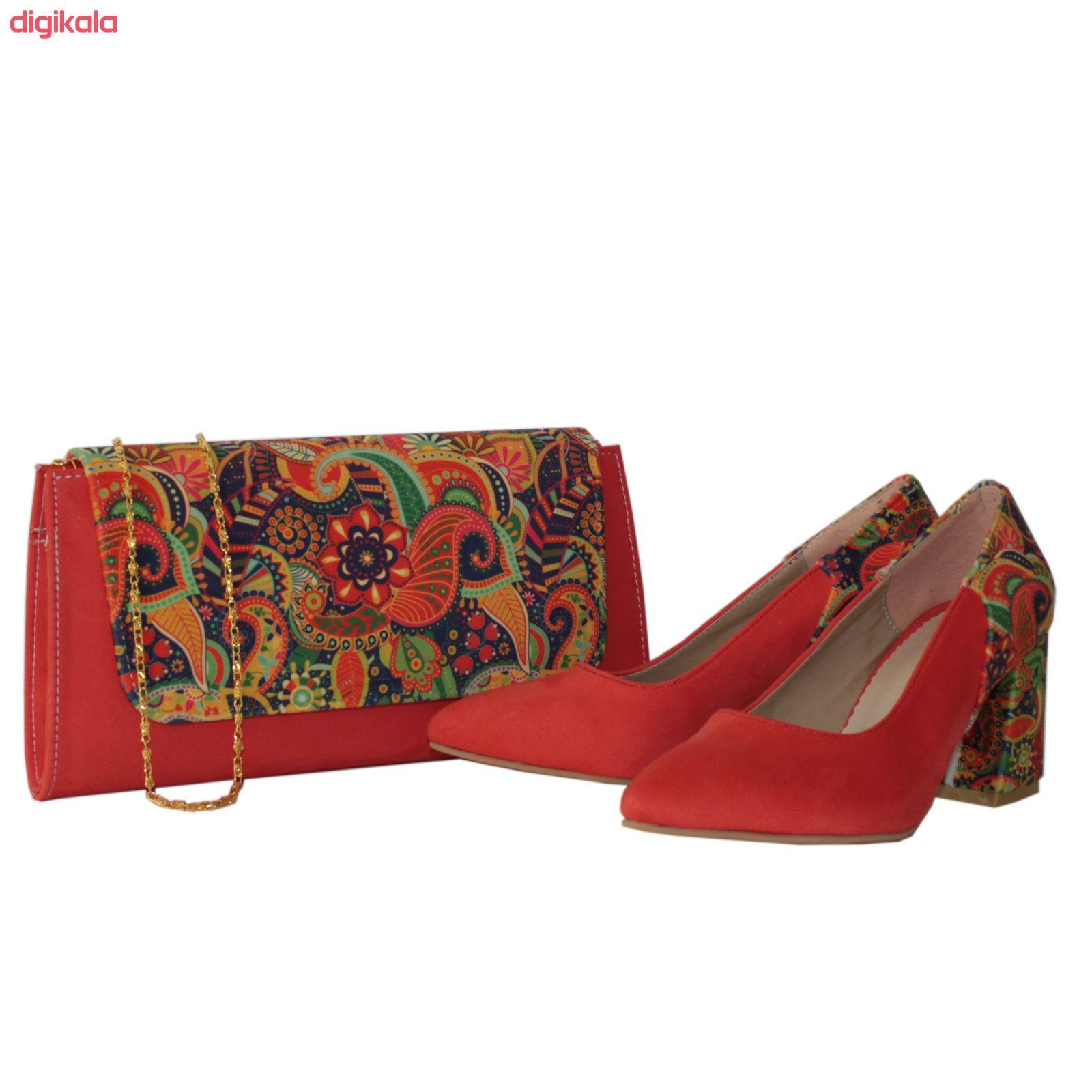ست کیف و کفش زنانه کد 204 main 1 1