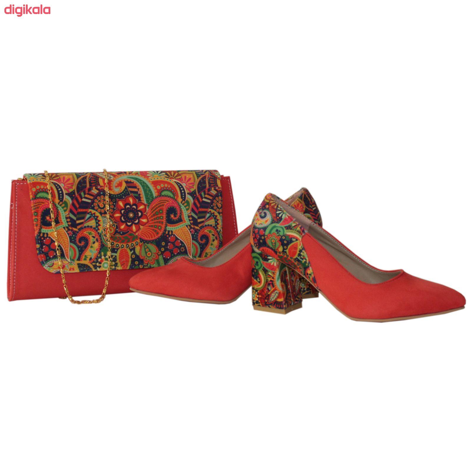 ست کیف و کفش زنانه کد 204 main 1 2