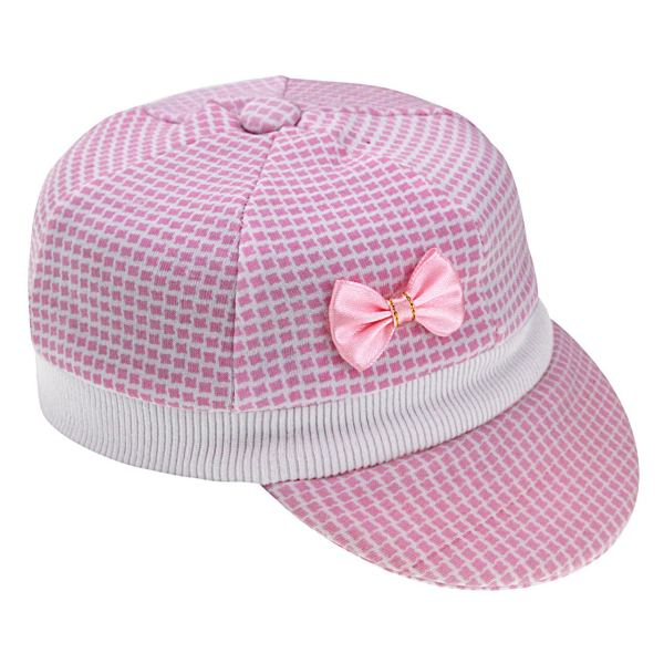 کلاه نوزادی دخترانه کد y147
