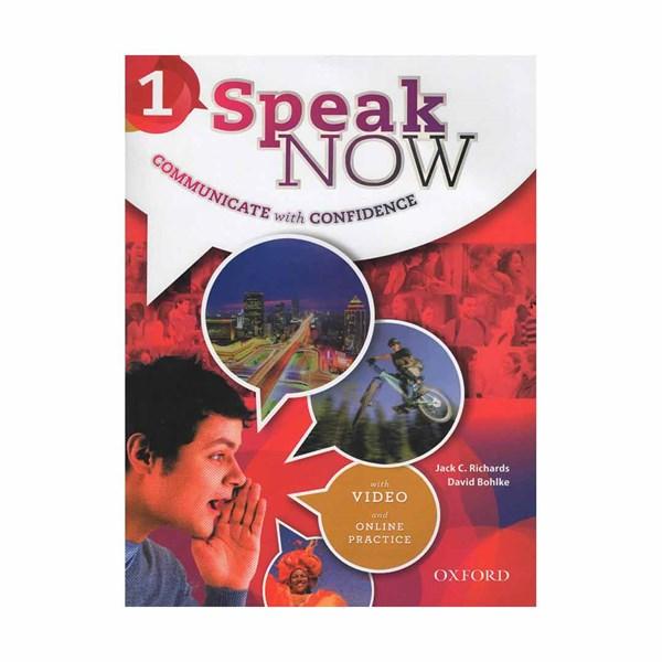 خرید                      کتاب SPEAK NOW 1 اثر David Bohlke and Jack C. Richards انتشارات OXFORD