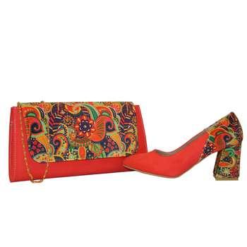 ست کیف و کفش زنانه کد 204