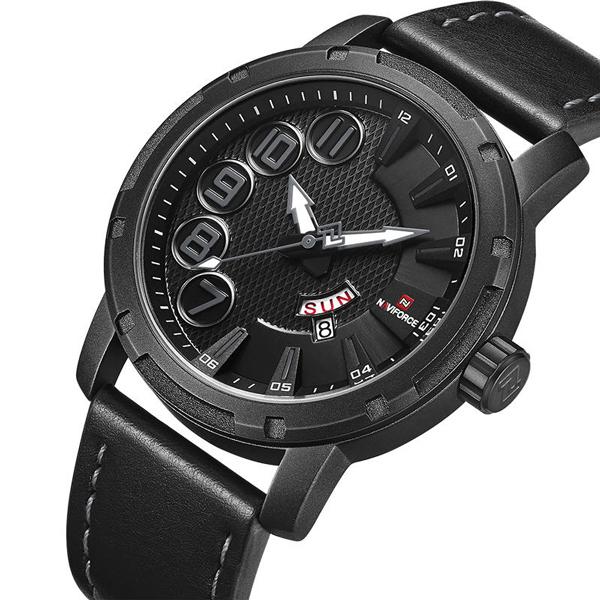 ساعت مچی عقربه ای مردانه نیوی فورس مدل NF9154M - ME-ME              خرید (⭐️⭐️⭐️)