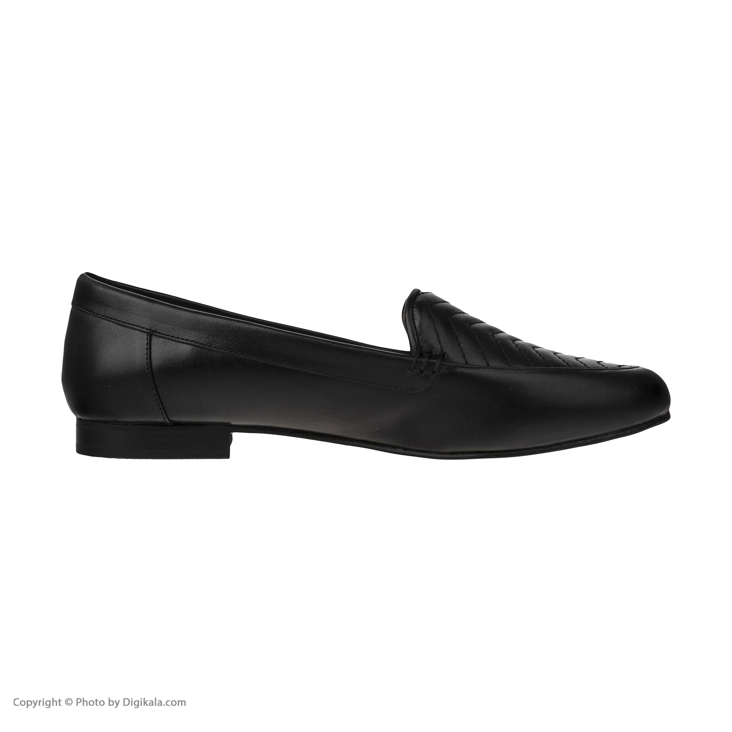 کفش  زنانه چرم یاس مدل اورلان M1
