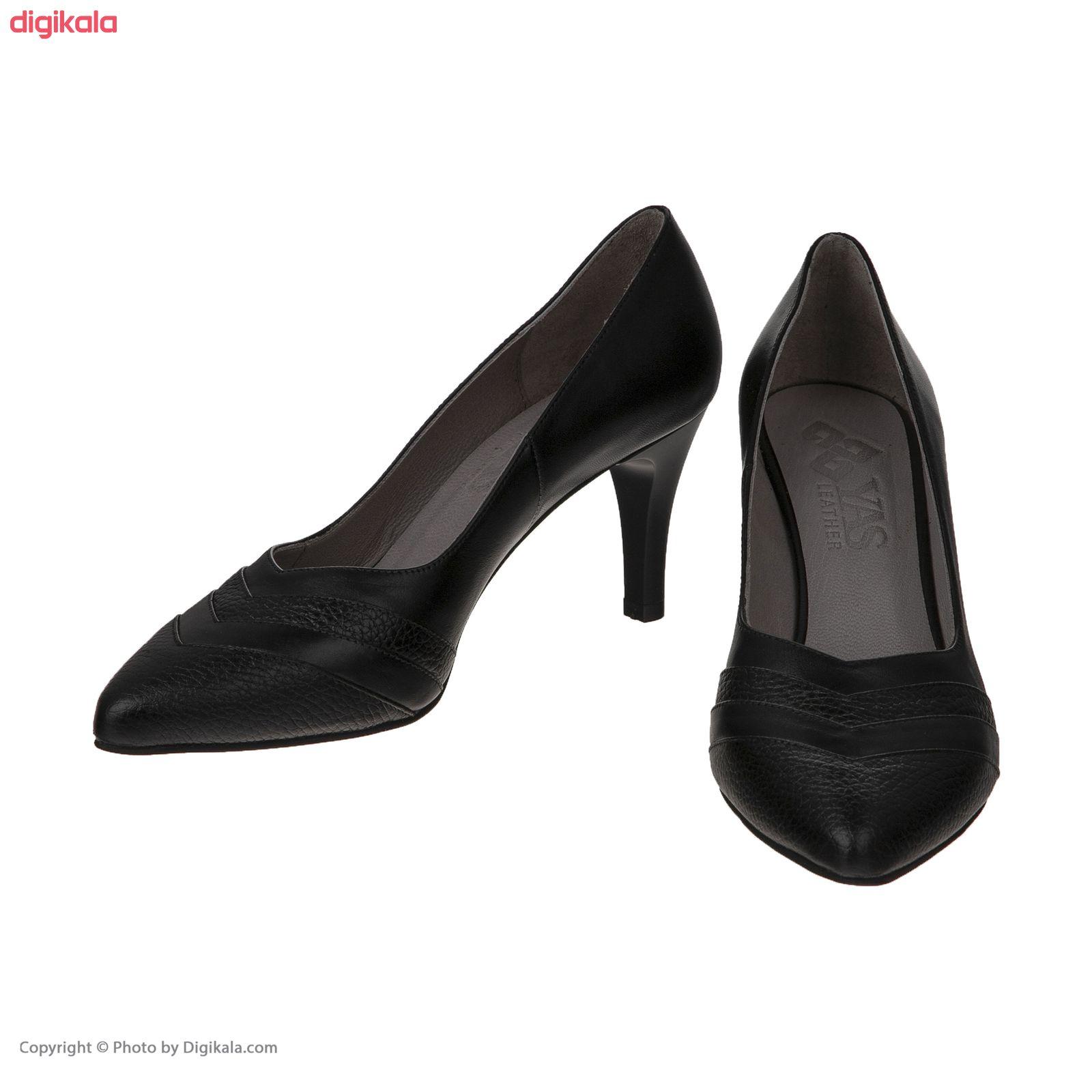 کفش زنانه چرم یاس مدل دیبالا main 1 1
