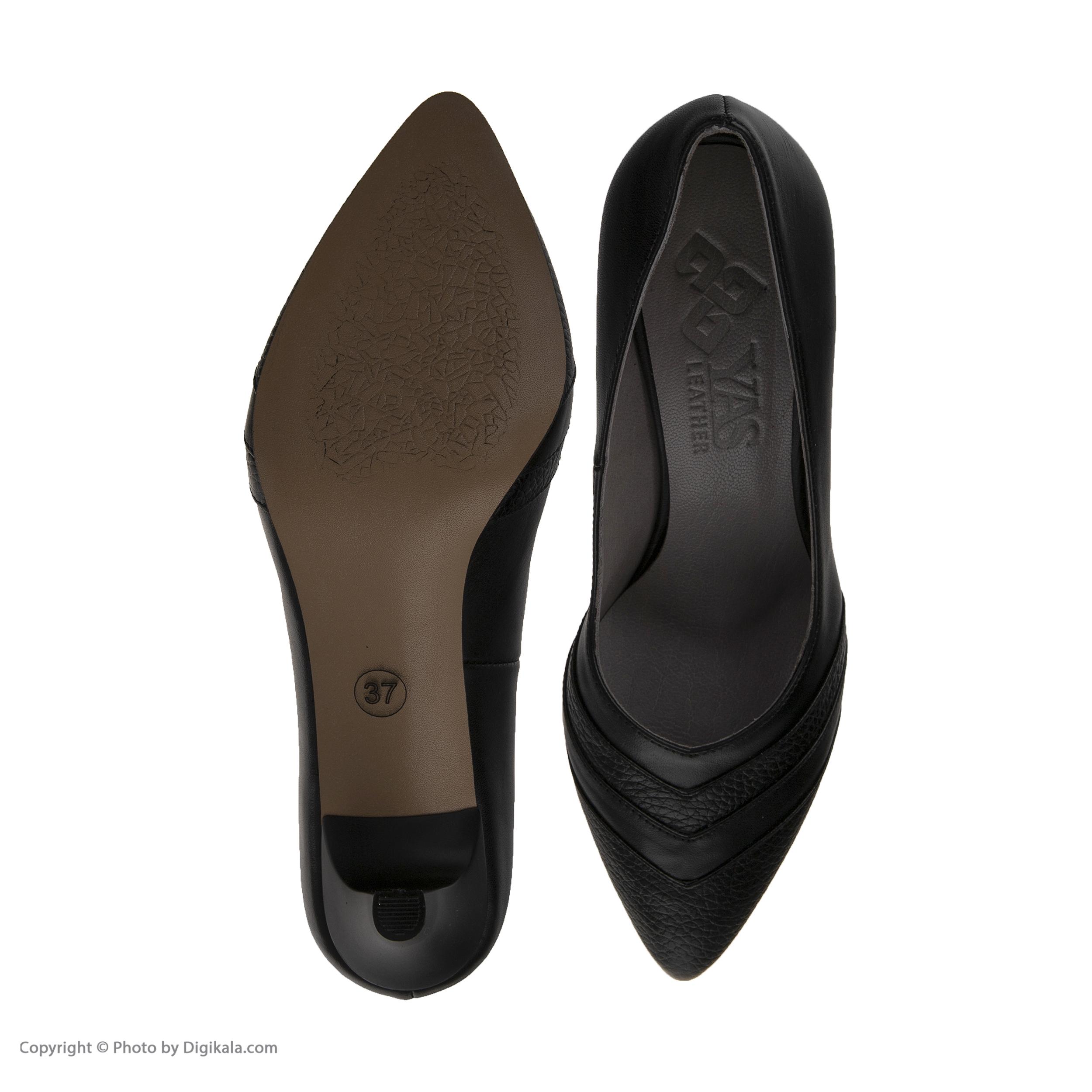 کفش زنانه چرم یاس مدل دیبالا main 1 6