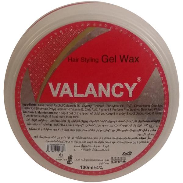 ژل واکس مو والانسی مدل V2 حجم 100 میلی لیتر