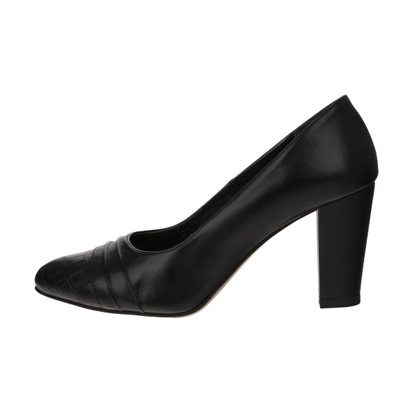 کفش زنانه چرم یاس مدل مندی