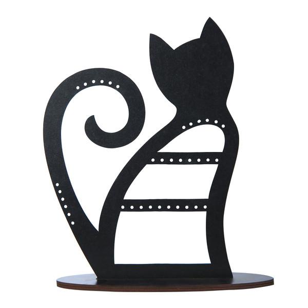 استند جواهرات طرح گربه مدل C1