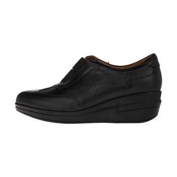کفش روزمره زنانه چرم یاس مدل گلار