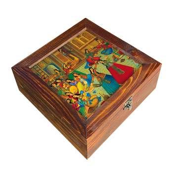 جعبه چای کیسه ای مدل D13