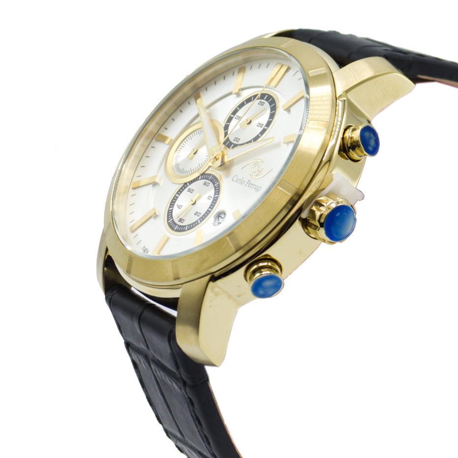 ساعت مچی عقربه ای مردانه کارلو پروجی مدل 2052