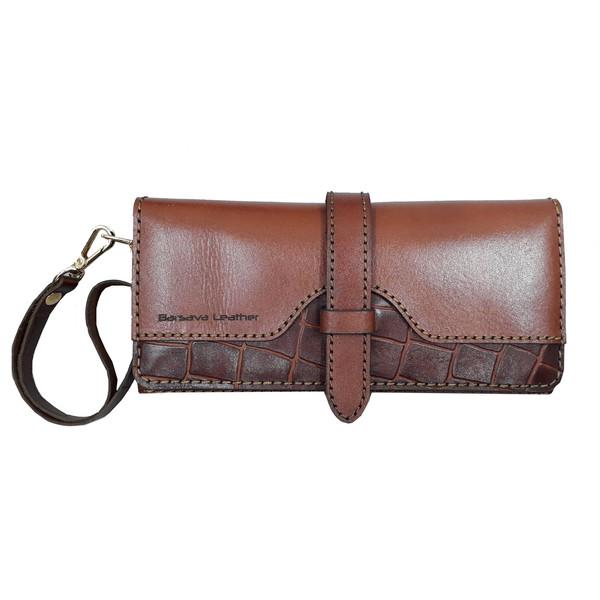 کیف پول زنانه چرم بارثاوا کد 1553