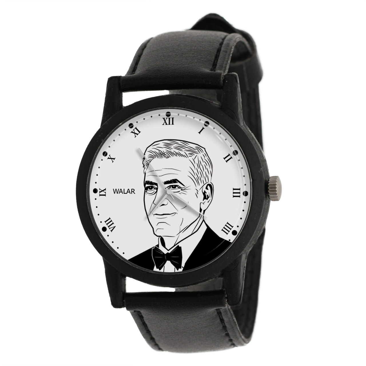 ساعت مچی عقربه ای والار طرح جورج کلونی کد LF2416              ارزان