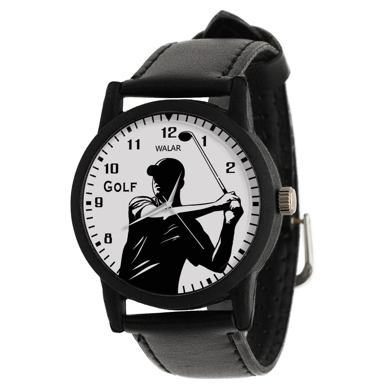 کد تخفیف                                      ساعت مچی عقربه ای مردانه والار طرح گلف کد LF2418