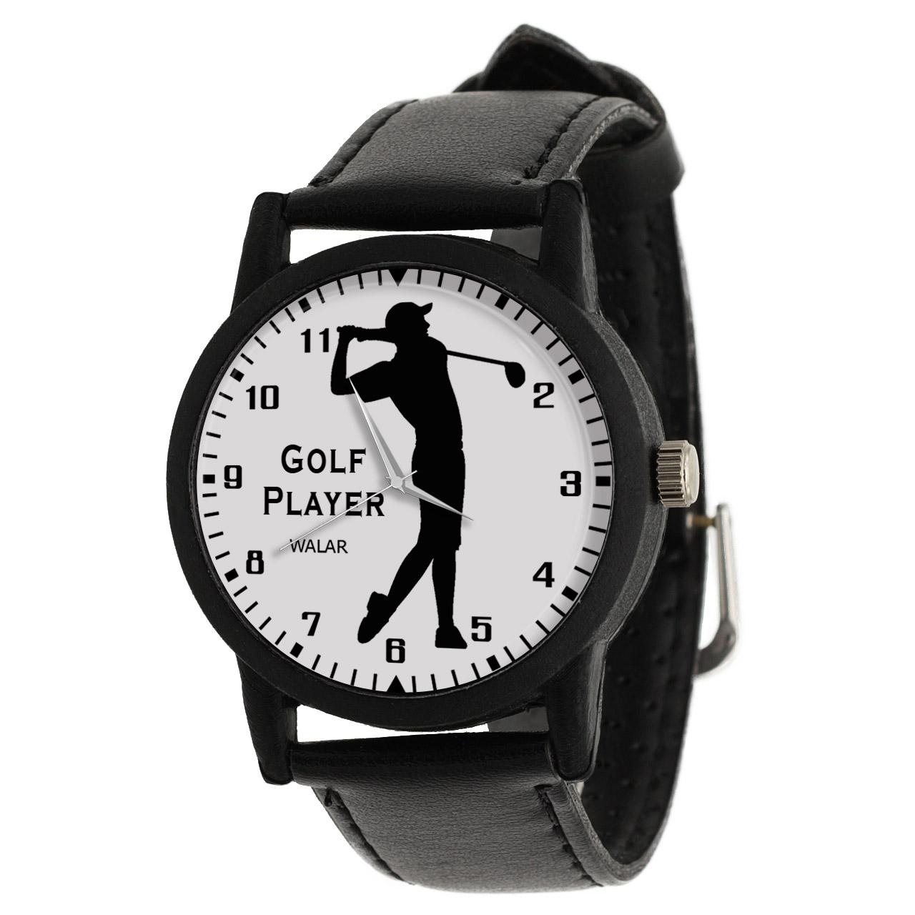 کد تخفیف                                      ساعت مچی عقربه ای مردانه والار طرح گلف کد LF2429