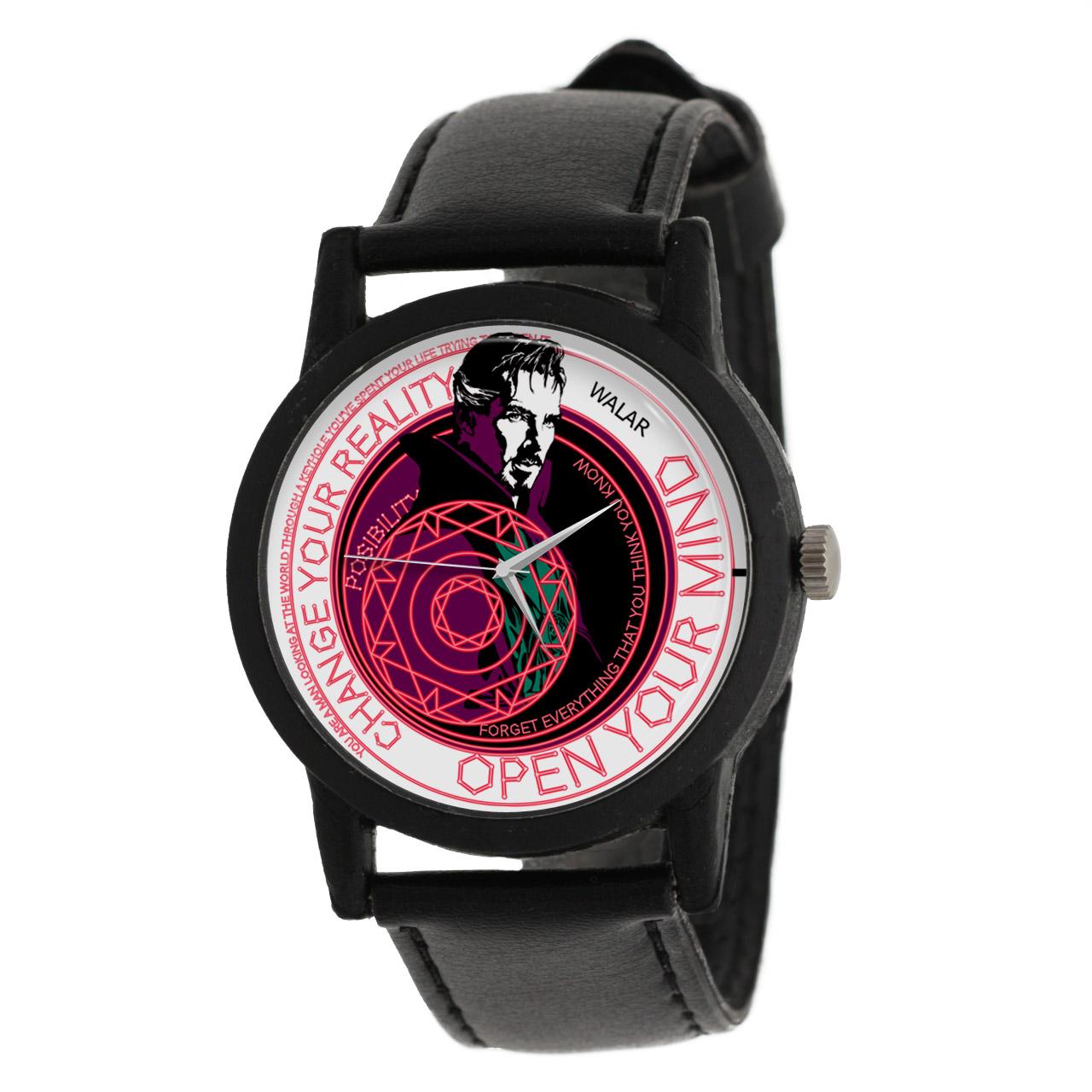 کد تخفیف                                      ساعت مچی عقربه ای والار طرح دکتر استرنج کد LF2463