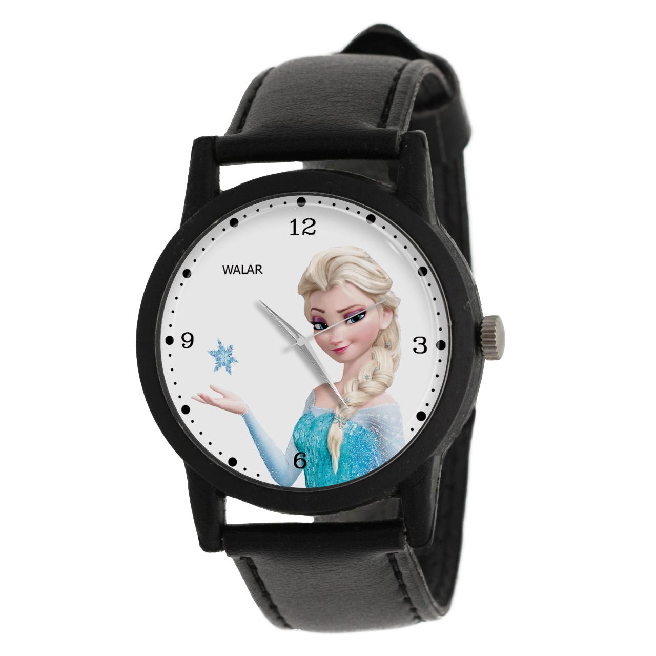 ساعت مچی عقربه ای زنانه والار طرح فروزن کد LF2474