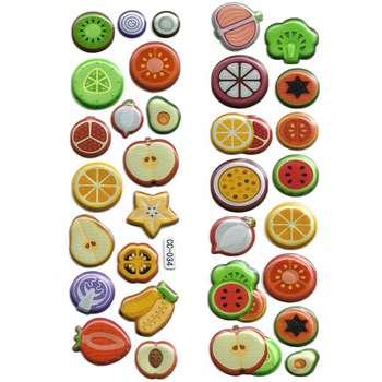 استیکر کودک طرح میوه مدل CC034
