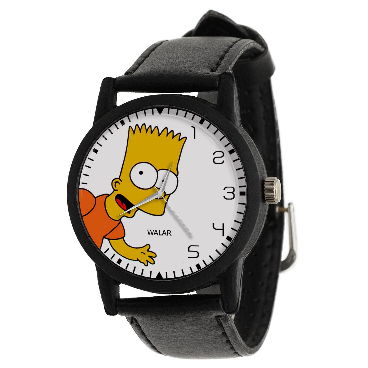 کد تخفیف                                      ساعت مچی عقربه ای والار طرح سیمپسونها کد LF2491