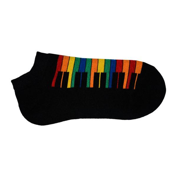 جوراب زنانه طرح پیانو