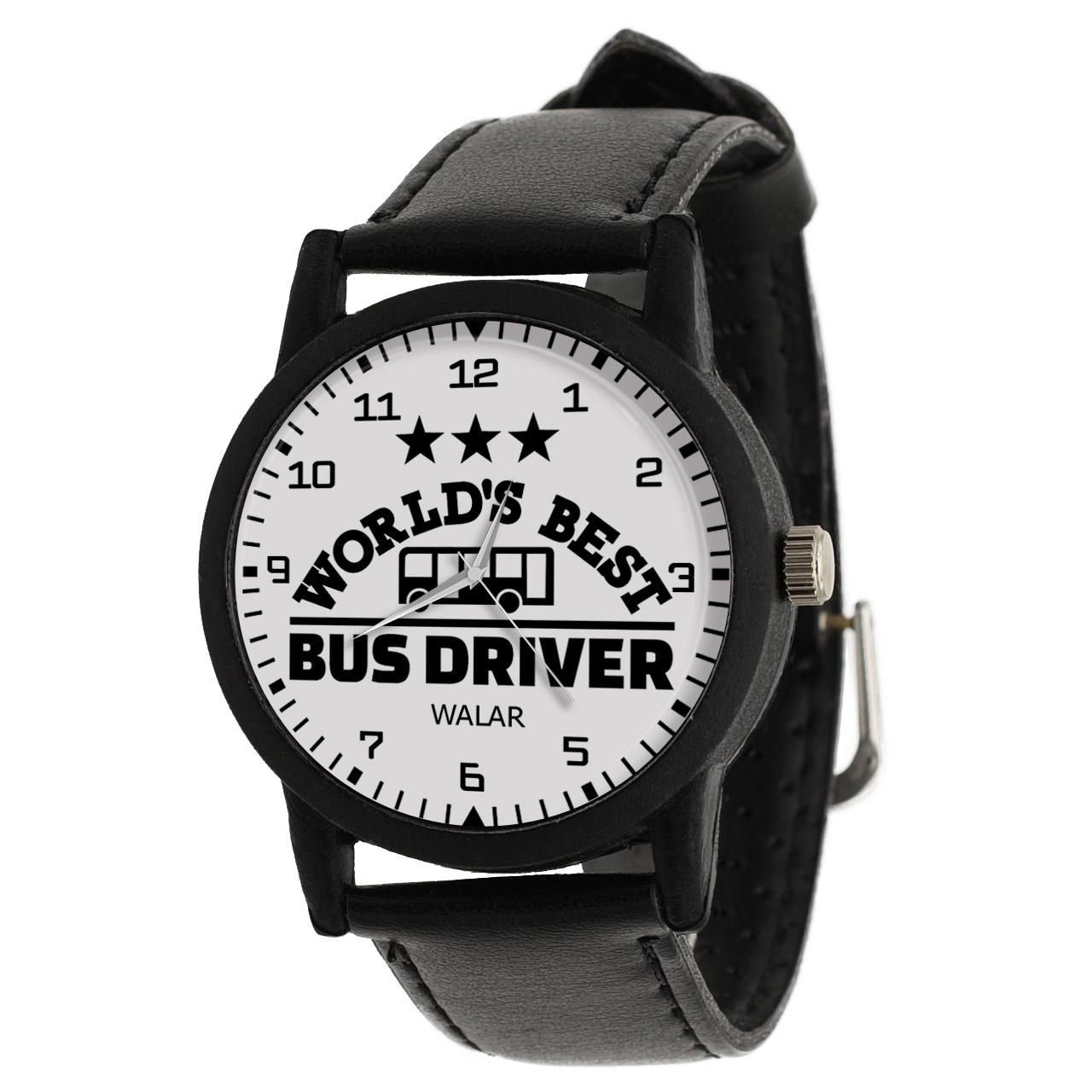 کد تخفیف                                      ساعت مچی عقربه ای والار طرح راننده اتوبوس کد LF2501