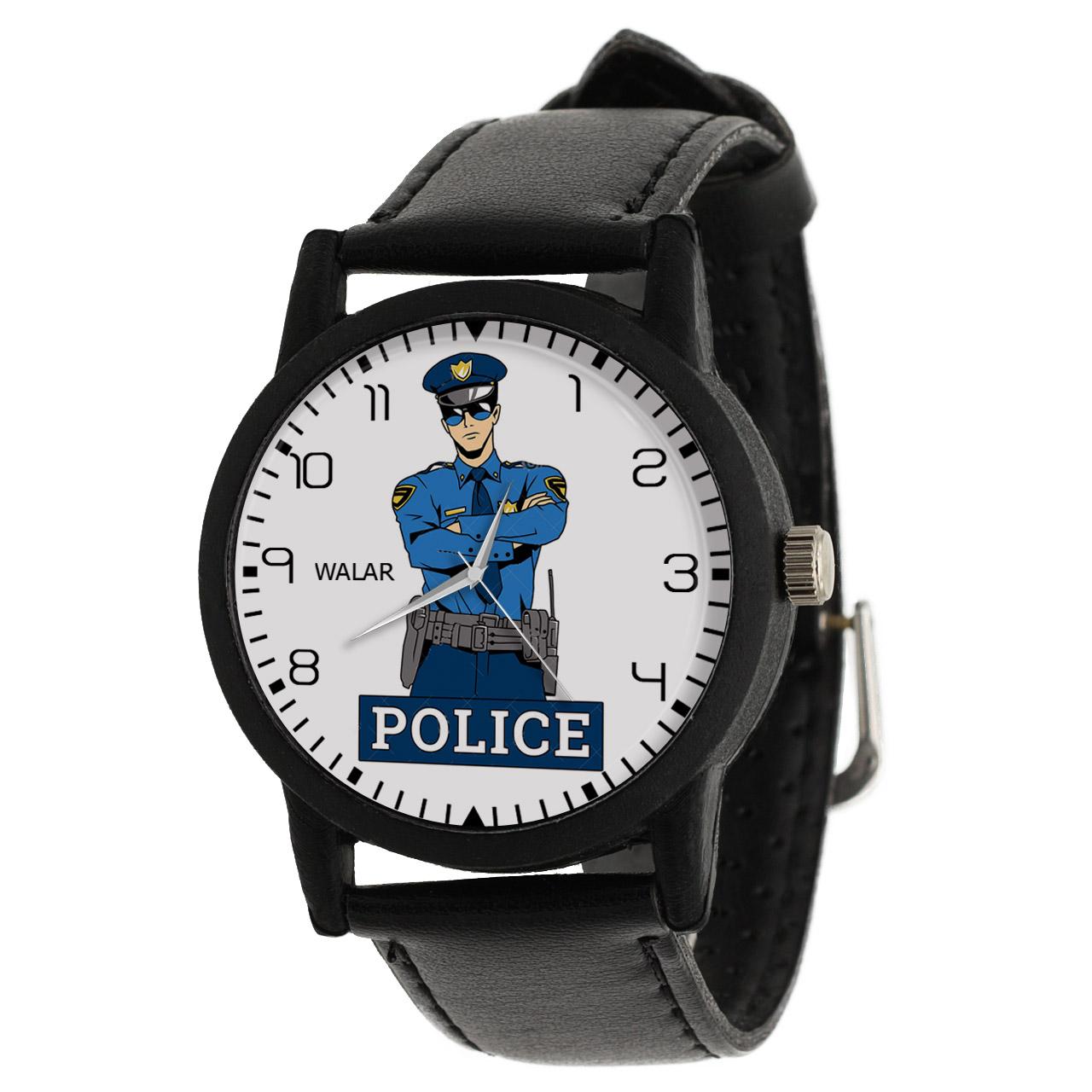 کد تخفیف                                      ساعت مچی عقربه ای مردانه والار طرح پلیس کد LF2505
