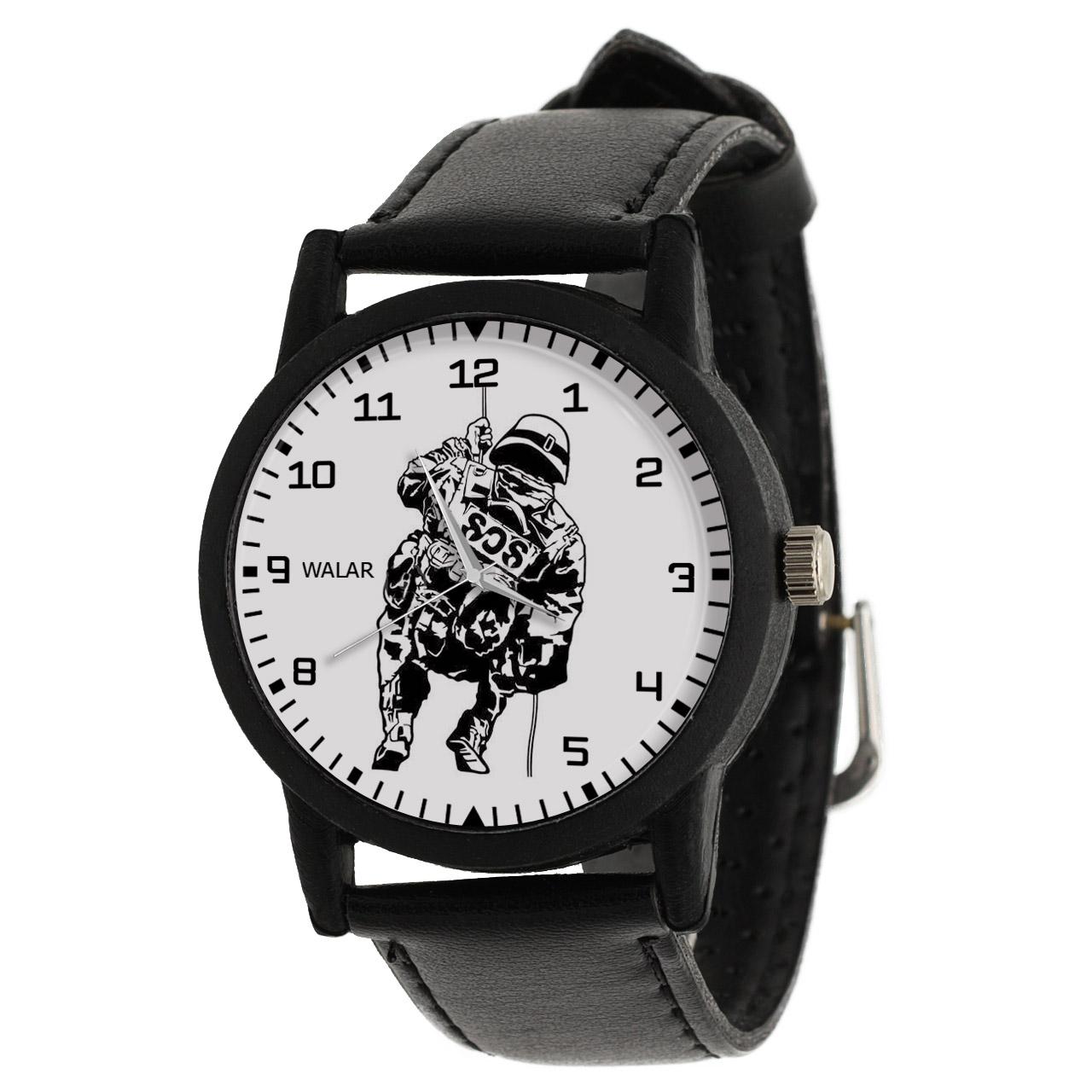 کد تخفیف                                      ساعت مچی عقربه ای مردانه والار طرح پلیس کد LF2506