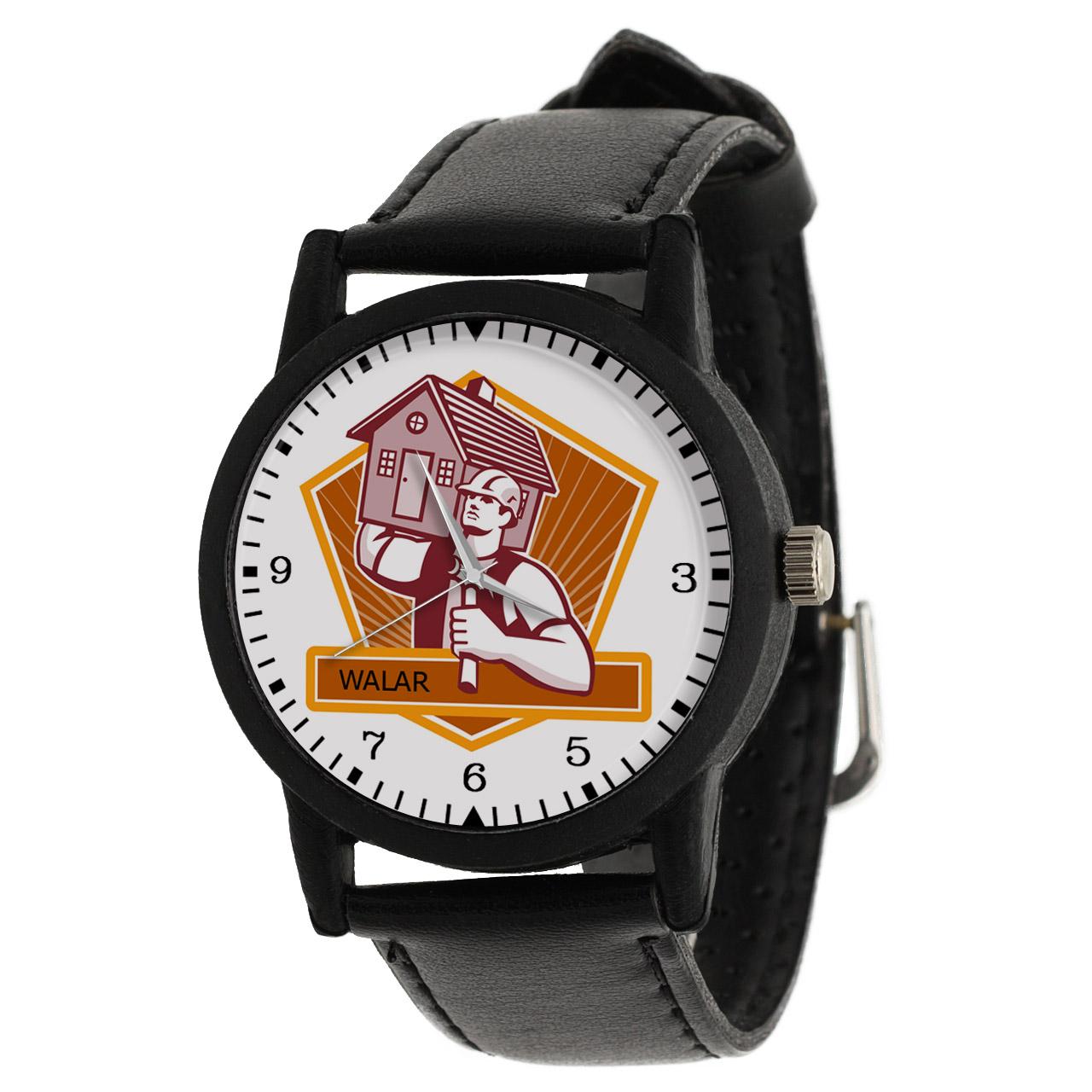 کد تخفیف                                      ساعت مچی عقربه ای مردانه والار طرح نجار کد LF2513