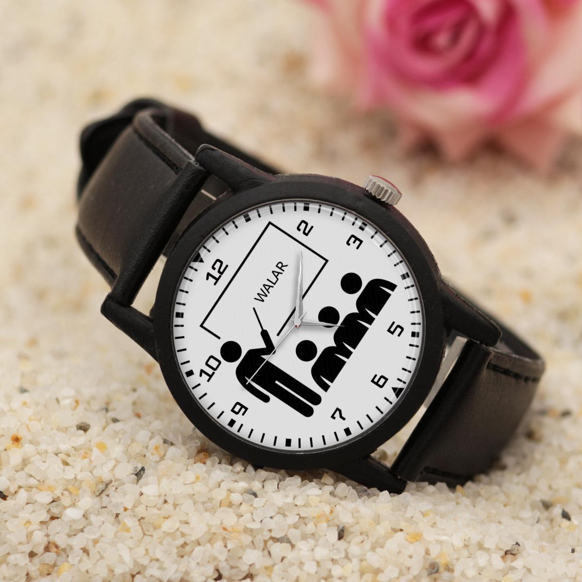 کد تخفیف                                      ساعت مچی عقربه ای مردانه والار طرح آموزگار کد LF2517