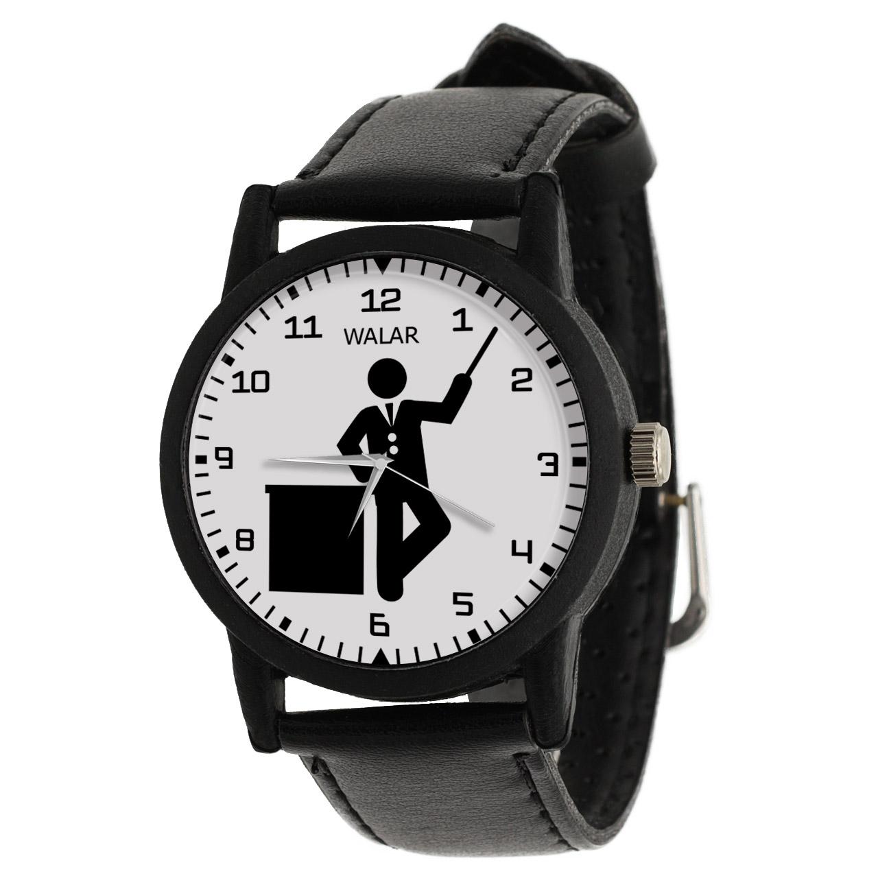 ساعت مچی عقربه ای مردانه والار طرح آموزگار کد LF2520