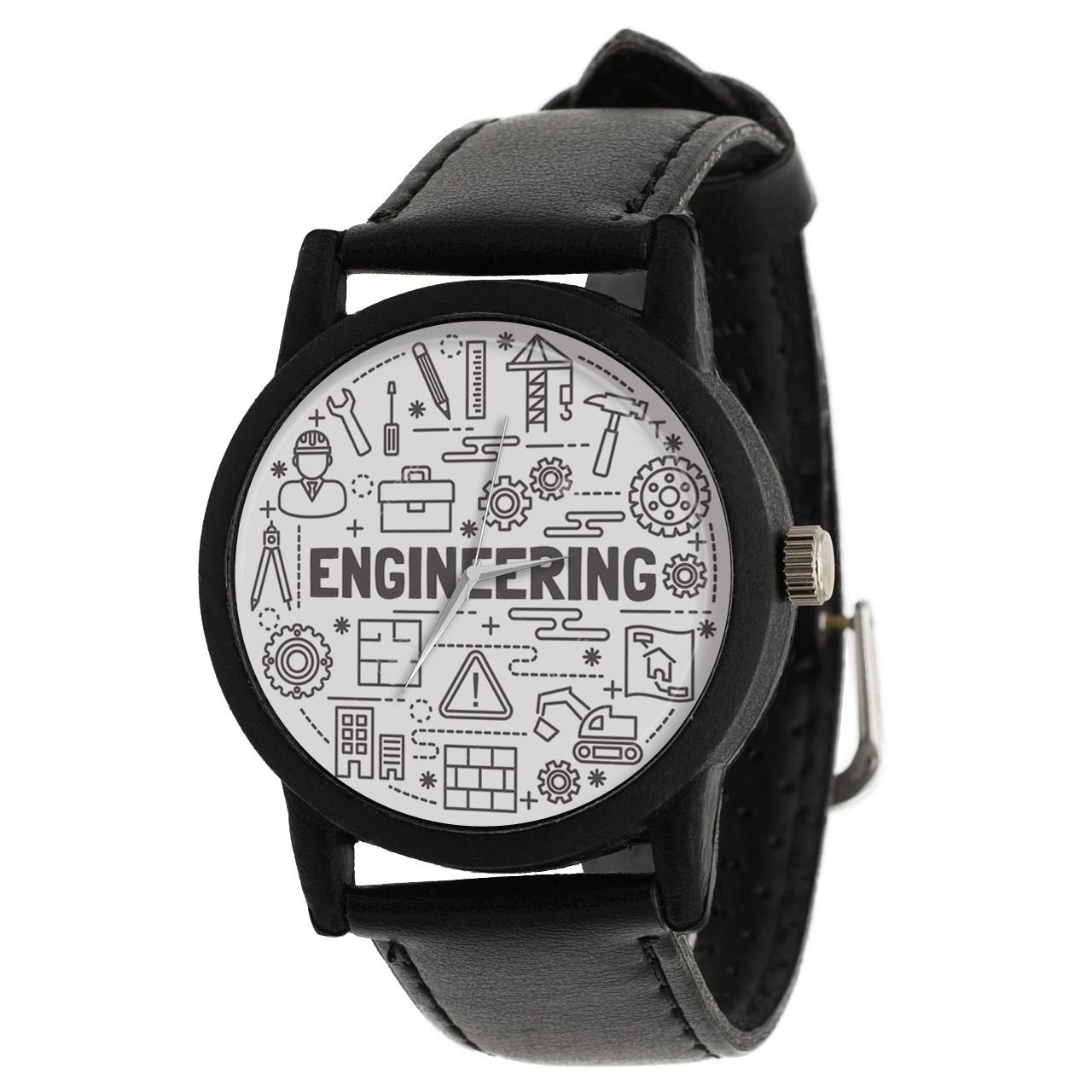 کد تخفیف                                      ساعت مچی عقربه ای والار طرح مهندسی کد LF2525