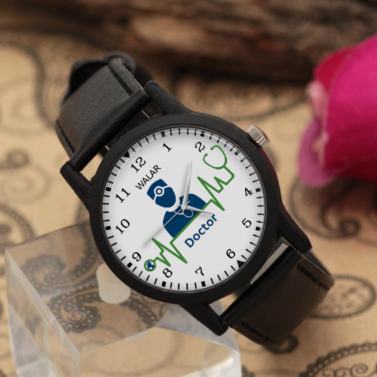 کد تخفیف                                      ساعت مچی عقربه ای مردانه والار طرح پزشک کد LF2527