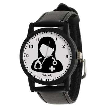 ساعت مچی عقربه ای زنانه والار طرح پزشک کد LF2530