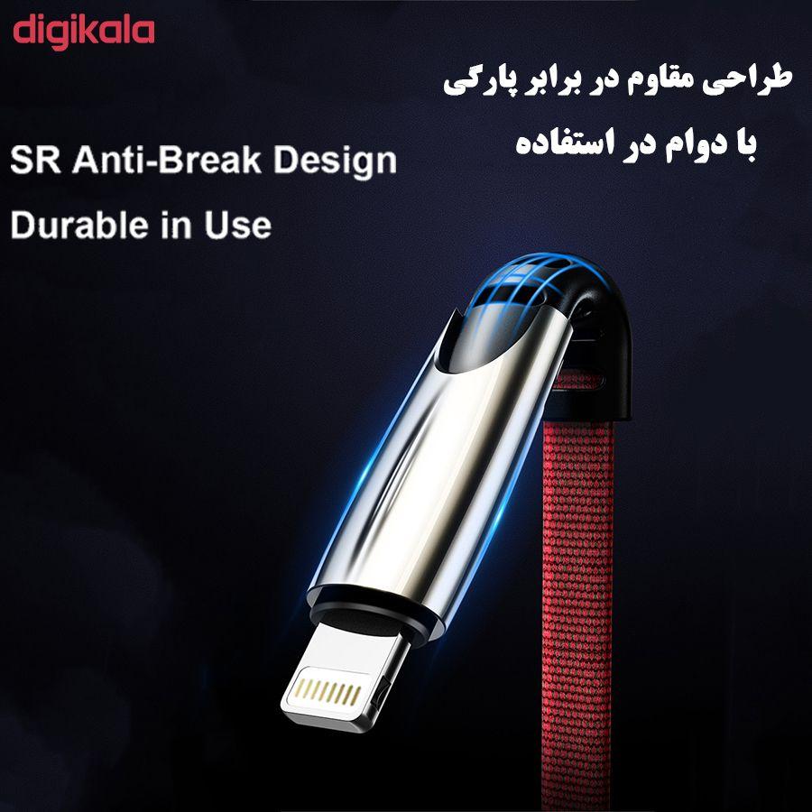 کابل تبدیل USB به لایتنینگ/USB-C/microUSB تاپیکس مدل TS-04 طول 1.5 متر main 1 3