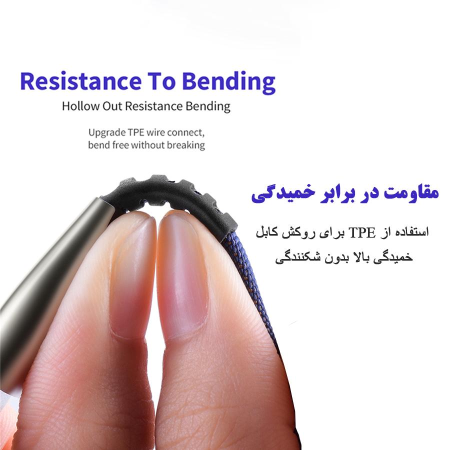 کابل تبدیل USB به لایتنینگ/USB-C/microUSB تاپیکس مدل TS-04 طول 1.5 متر main 1 10